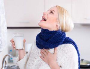 Чем эффективнее лечить горло при грудном вскармливании