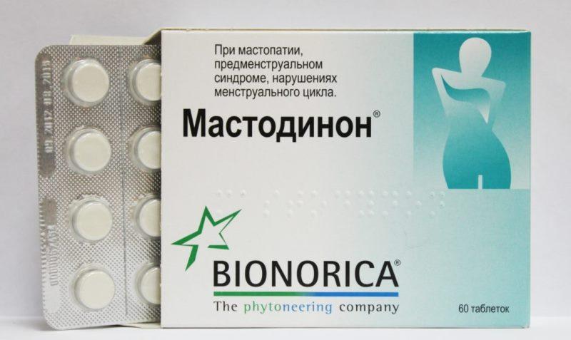 Какие препараты используются для лечения мастопатии