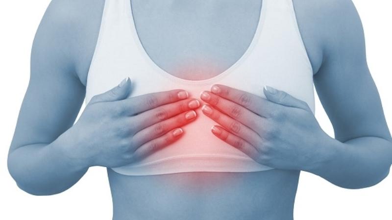 Если у женщины болят молочные железы, то в 90% случаев это никак не связанно с раковыми образованиями