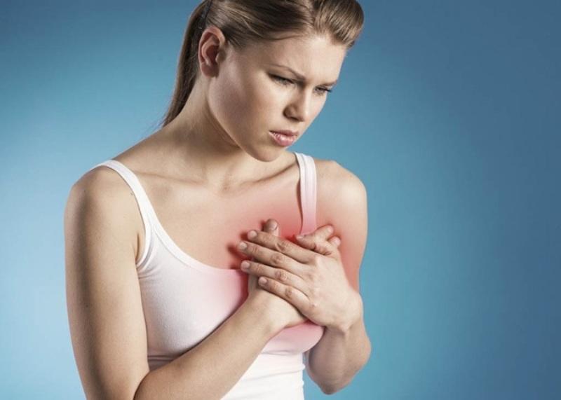 Біль в грудях з лівого боку