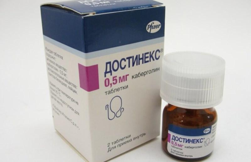 Отзывы о прекращении лактации препаратом Достинекс