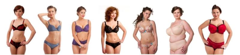 Формы и виды женских грудей