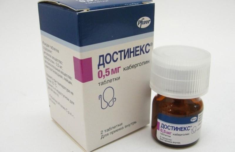 Состав и свойства препарата Достинекс